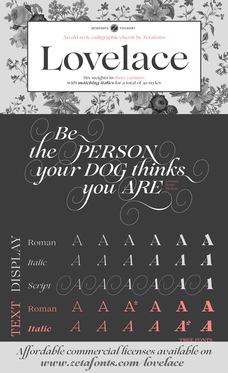 Lovelace Script free font